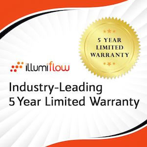 5 Year Limited Warranty on Laser Caps by illumiflow