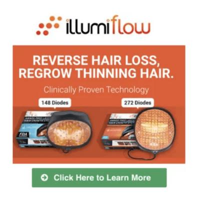 Top hair loss device
